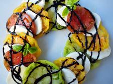Heirloom Tomato Caprese Salad