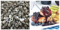 Blueberry Pinot Noir Chicken - Riverside Recipes