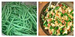 Potatoes, green bean, & corn salad - Riverside Farm Recipes