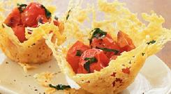 Roasted Tomato Parmesan Cups