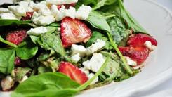 Strawberry Salad w/Feta